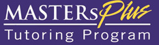 MASTERs Plus Tutoring Program